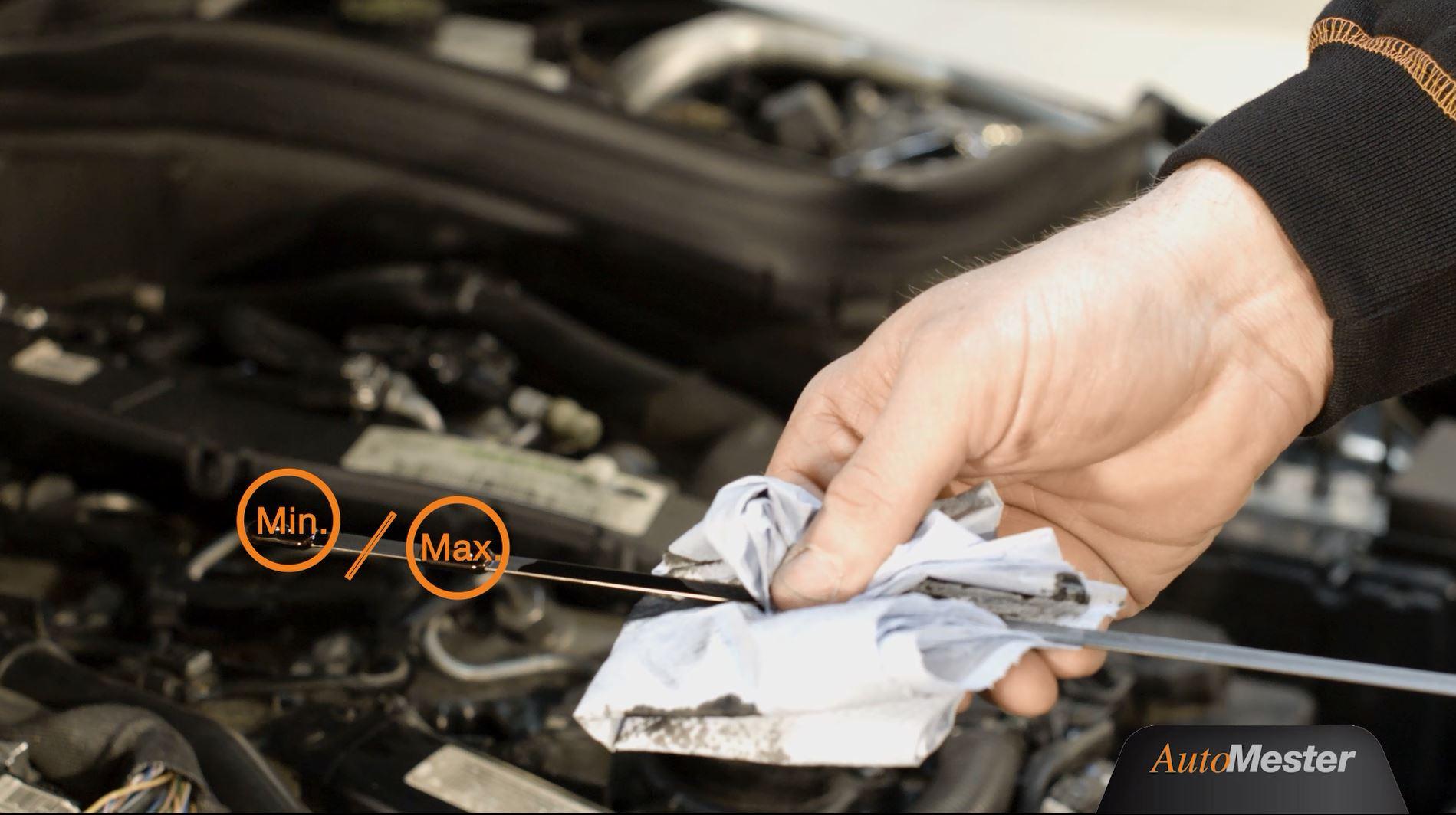 Tidssvarende Sådan tjekker du selv bilens oliestand | Automester RW-21